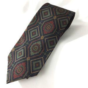 """Vintage Aztec polo Ralph Lauren men's tie 59"""""""